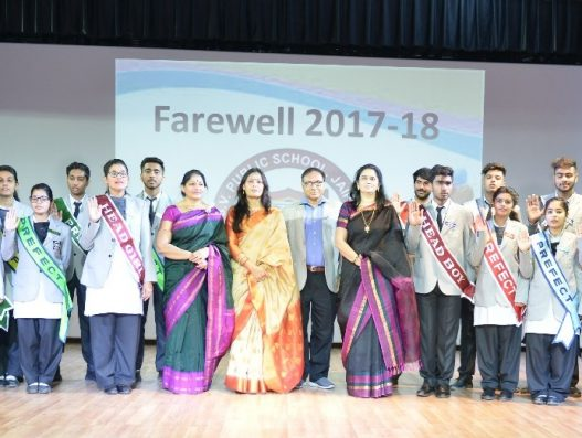 FAREWELL CEREMONY – 18th February 2018