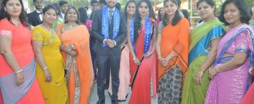 Edmund's Accord warm Farewell to class XII Students