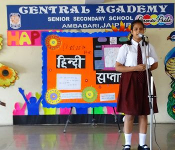 HINDI SAPTAH (Central Academy, Ambabari Jaipur)