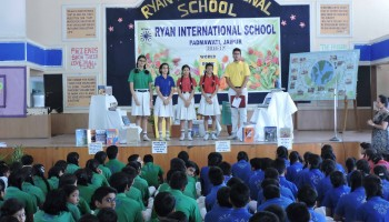 WORLD BOOK DAY -RYAN INTERNATIONAL SCHOOL, PADMAWATI