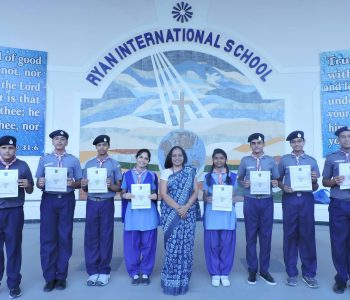 SCOUT AND GUID (Ryan International School, Padmawati, Nirman Nagar)