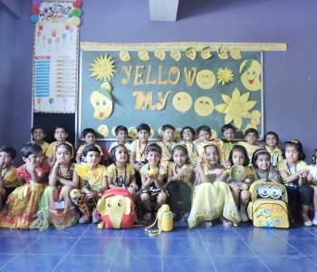 Hello to Yellow (Ryan International School, Padmawati, Nirman Nagar, Jaipur)