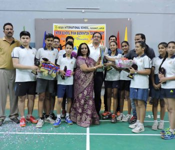 CLOSING CEREMONY OF RYAN BADMINTON TOURNAMENT 2017