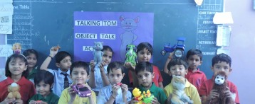 TAKING TOM(OBJECT TALK)-RYAN INTERNATIONAL SCHOOL, PADMAWATI, JAIPUR
