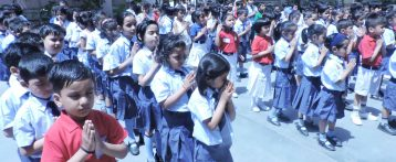 REOPENING ASSEMBLY WRITE UP (Ryan International School, Padmawati, Nirman Nagar, Jaipur)