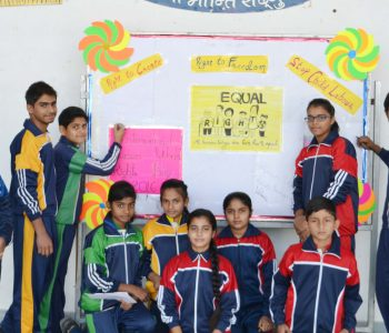 Human Rights Day – creating awareness about human rights at SRN International School