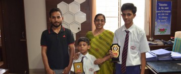Best School Award in Skating-MPS International School