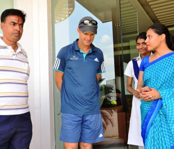 Students Meet & Greet Gary Kirsten (Bright Future Sr. Sec. School, Nirman Nagar)