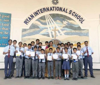 IMO ACHIEVEMENT (Ryan International School , Padmawati)