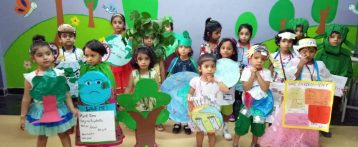 FANCY DRESS COMPETITION  (SAVE  EARTH )