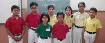 ONE MINUTE SPEECH (Ryan International School, Padmawati, Nirman Nagar, Jaipur)