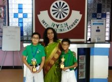 INTER SCHOOL COMPETITION at PEARSON SCHOOL JAIPUR (Jog Your Brain)