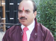 Pradeep Kumar Pandey,  Principal, Maheswari International School