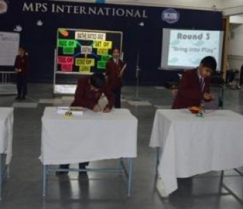 Quiz Competition-MPS International School