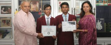 Students Recognition At International Level  Brought Laurels to the School