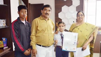 TAEKWONDO CHAMP-MPS INTERNATIONAL SCHOOL