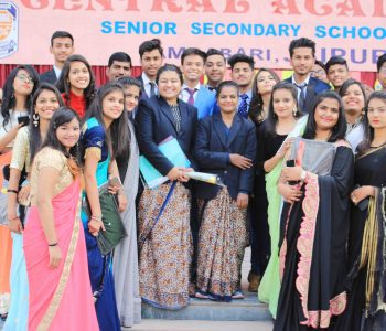BID FAREWELL TO CLASS XII STUDENTS (Central Academy, Ambabari, Jaipur)