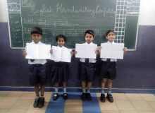ENGLISH HANDWRITING COMPETITION (Ryan International School)